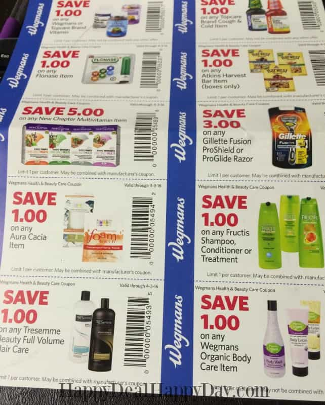New Health  Wellness Wegmans Coupon Booklet Found InStore