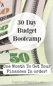 30 day budget bootcamp main