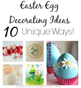 Easter Egg Decorating Ideas – 10 New Ways!