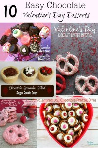 easy chocolate valentines day desserts roundup