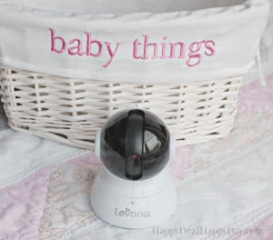 Levana Video Baby Monitor Review & Giveaway (Ends February 29th)