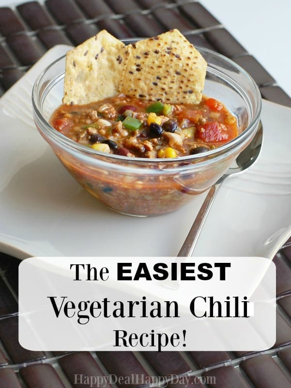 easiest vegetarian chili