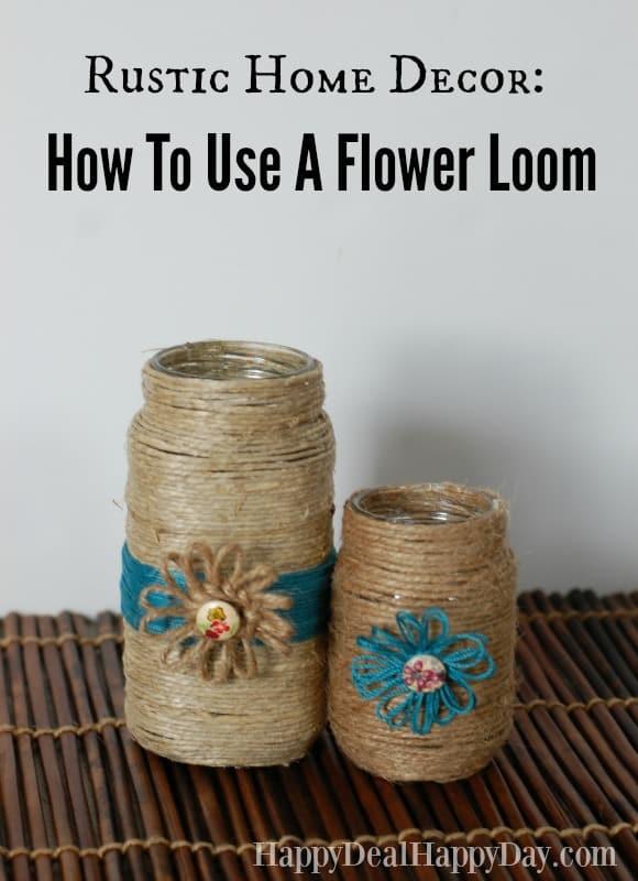 flower loom tutorial