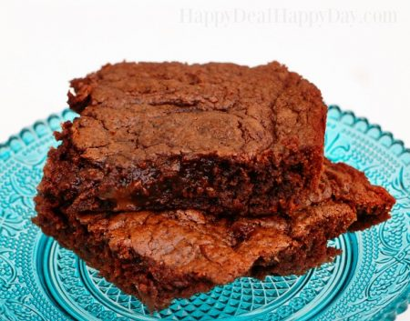Easy 4 Ingredient Nutella Brownies