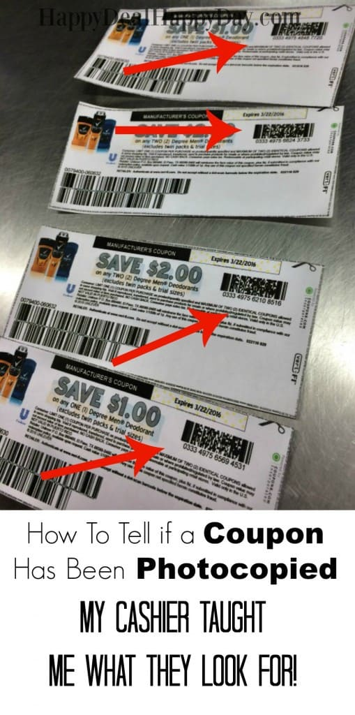 photo copy coupon cashier