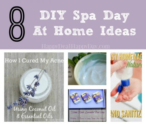 8+ DIY Spa Day At Home Ideas