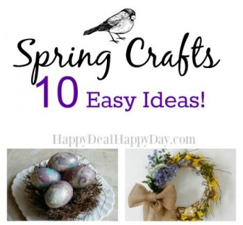 Spring Crafts – 10 Easy Ideas!