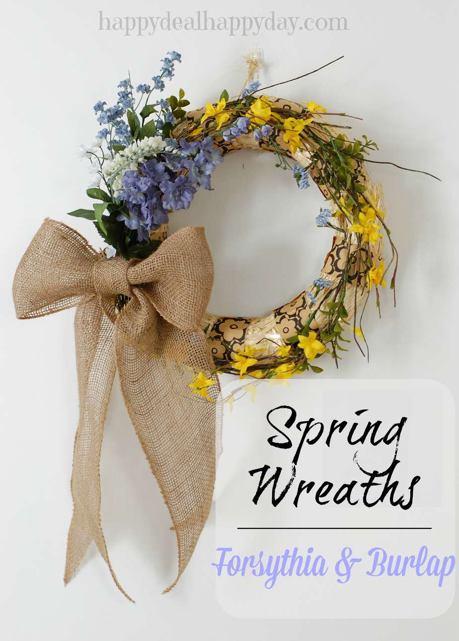 Spring Crafts 10 Easy Ideas Happy Deal Happy Day