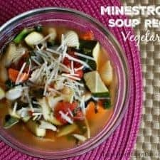 Easy Slow Cooker Minestrone Soup Recipe