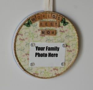 Personalized Mother's Day Frame and Magnet Board – Affordable Gift Idea!