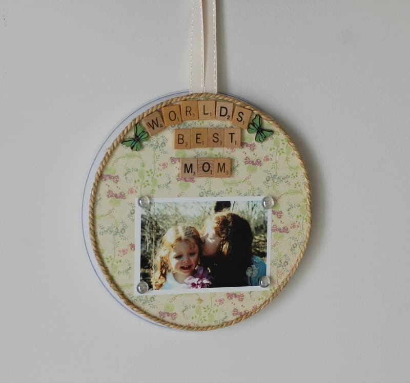 Personalized Mother's Day Frame and Magnet Board