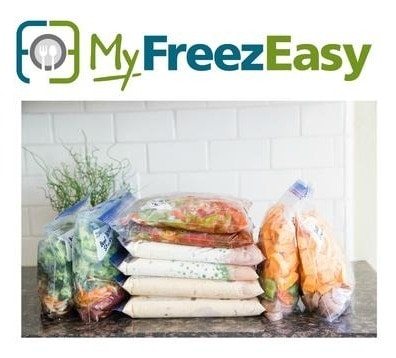 MyFreeze Easy Monthly Menu Plan Printables – Shows You How To Prepare & Freeze 10 Meals in Less Than An Hour!