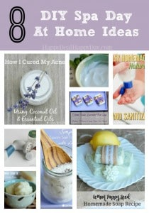 spa day at home ideas