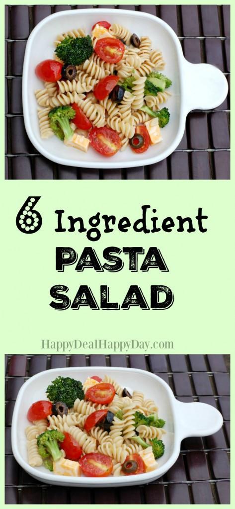 QUICK & EASY Pasta Salad Recipe