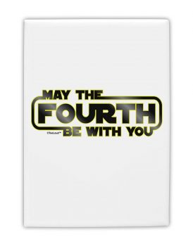 Amazon:  Star Wars May the 4th Be with You Fridge Magnet