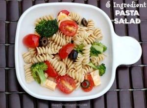 pasta salad text