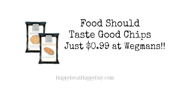 Food Should Taste Good Tortilla Chips just $0.99 at Wegmans!
