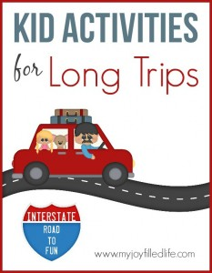 How to Survive Long Road Trips with Young Kids