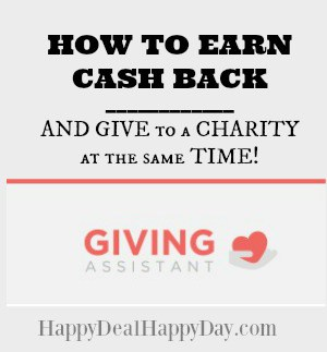 29707c1ef4 Giving Assistant – A New Place to Get Cash Back AND Give at the Same Time