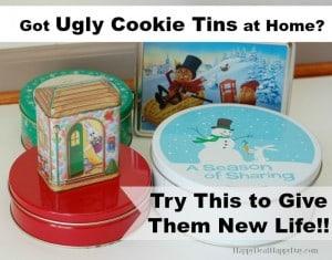 ugly cookie tins