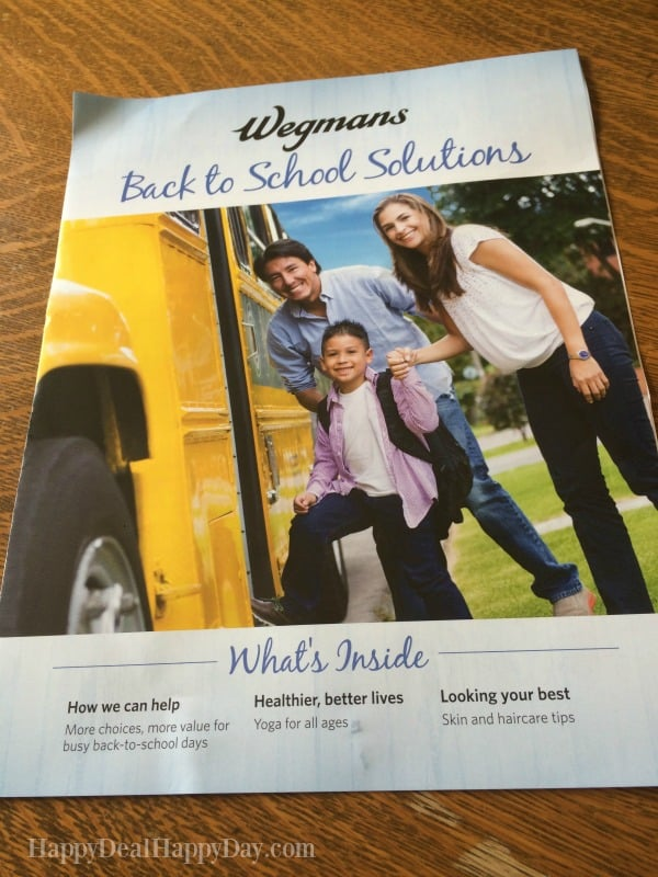 New Wegmans Back To School Coupon Booklet – 10 New Coupons!