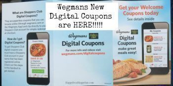 Wegmans Digital Coupons:  30 New Coupons on Their App