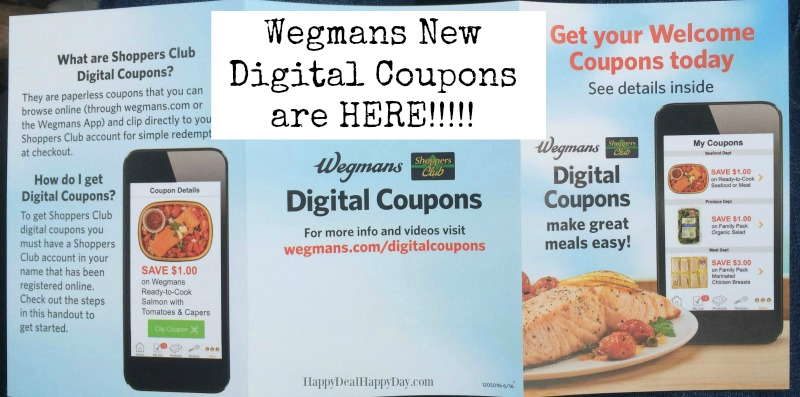 wegmans digital coupons 2 text