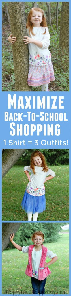 Osh Kosh Maximize Back-To-School shopping - one new shirt = 3 new outfits!
