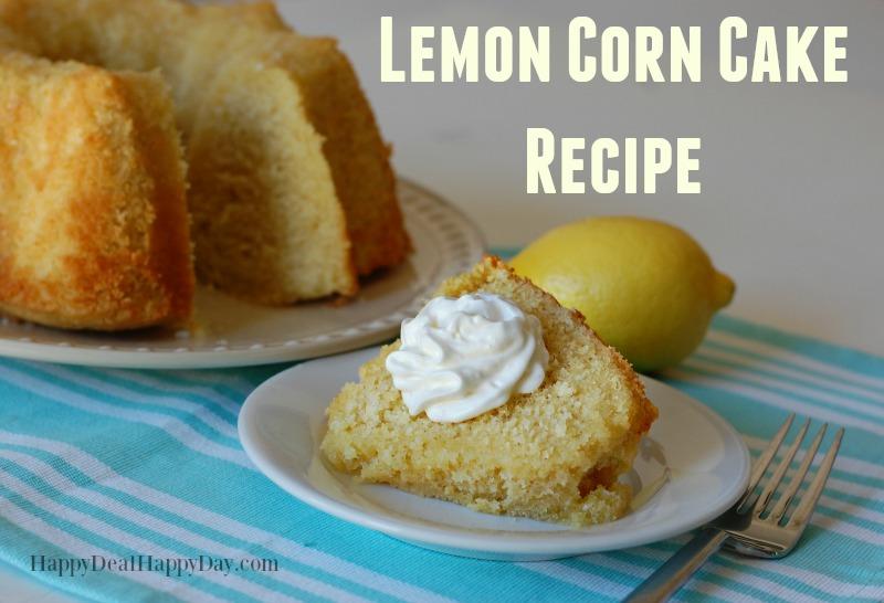 Lemon Corn Cake Recipe