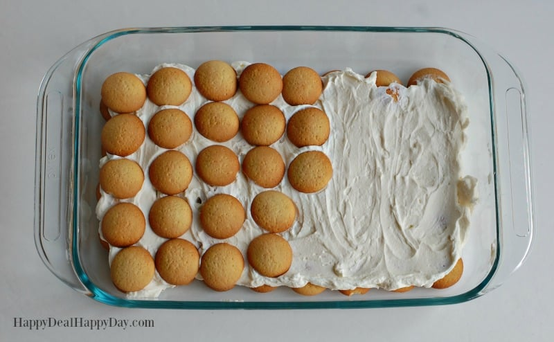strawberry Icebox Cake wafer layers
