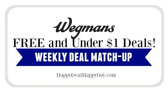 Wegmans List:  FREE or Under $1 – Updated 7/25/18