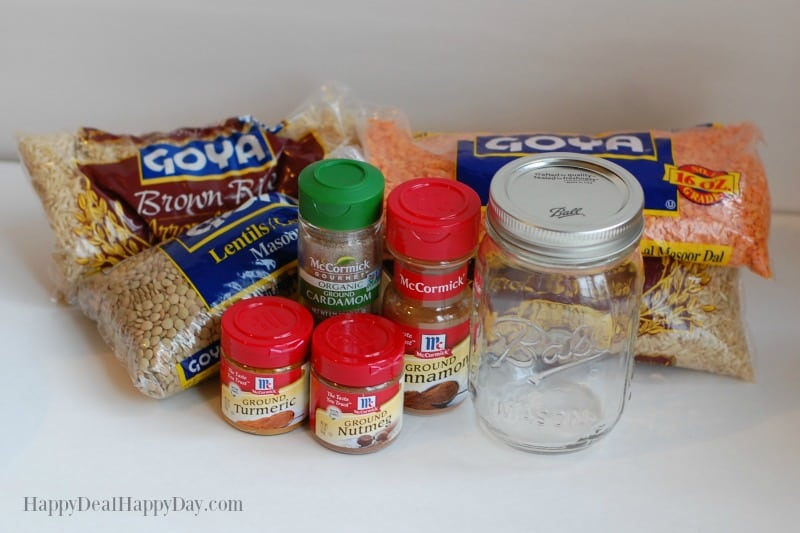 Dry Soup Mix In A Jar Recipes ingredients