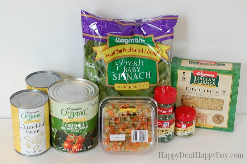 pasta-fagoli-ingredients