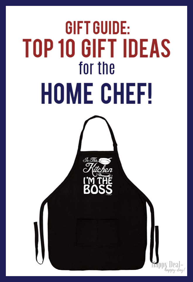 Gift Guide: Top 10 Gift Ideas for the Home Chef