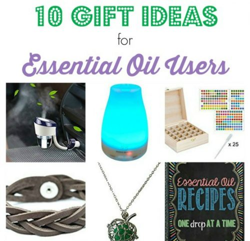 Gift Guide:  10 Gift Ideas for an Essential Oil User
