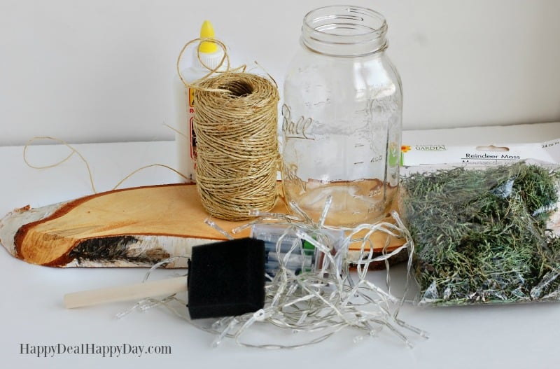 How To Make A Mason Jar Wall Sconce materials needed