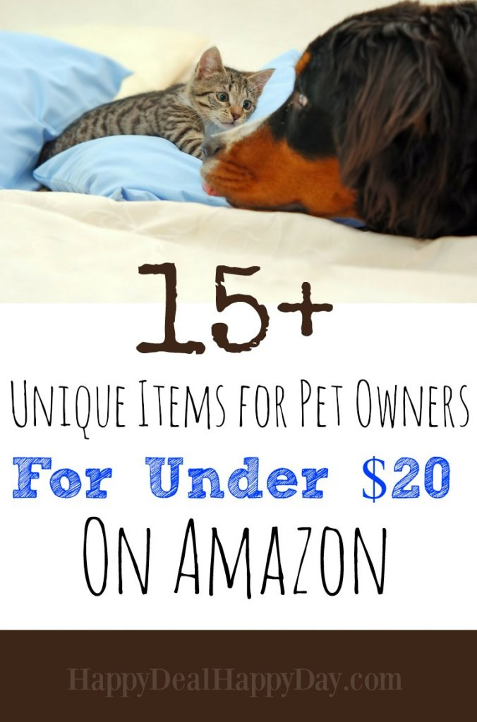 15+ unique items for pet owners for under 20 on amazon