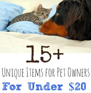 Unique Items for Pet Owners for Less Than $20 on Amazon