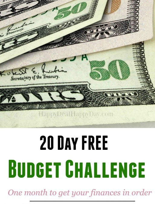 20 day budget bootcamp - take one month and read each of these tips (one a day minus weekends) and get your finances in order!