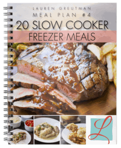 Slow Cooker Freezer Meals – 4 Different Menu Plans to Choose From!