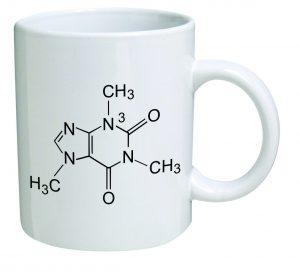Funny Mug - Caffeine Molecule - Chemistry