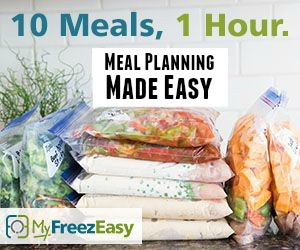 Custom Monthly Menu Plan Printable Using MyFreezEasy Meal Plan App!