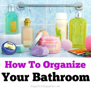 The Solution To Organizing a Bathroom!
