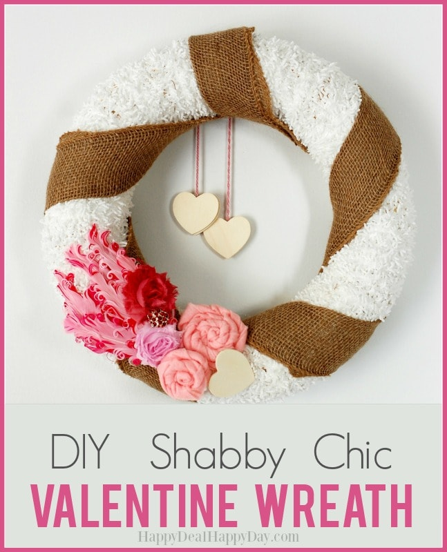 DIY Valentine's Day Day Wreath