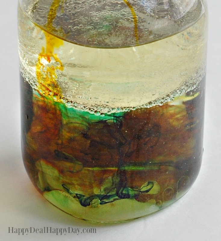 mason jar lava lamp