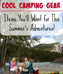 Cool Camping Gear – Awesome Gadgets & Neat Stuff You'll Want for This Summer's Adventures!