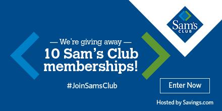 Sam's Club Plus Membership Giveaway – 10 Winners – Ends 6/2/17 #JoinSamsClub