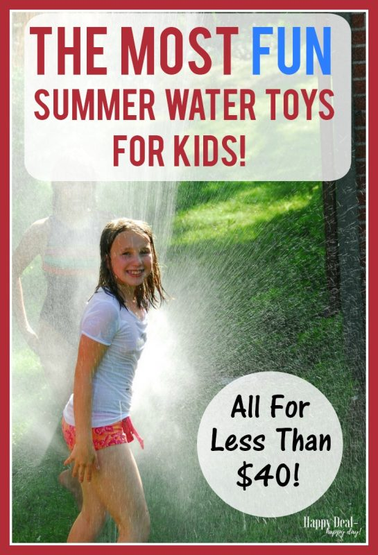 The Most Fun Summer Water Toys for Kids!