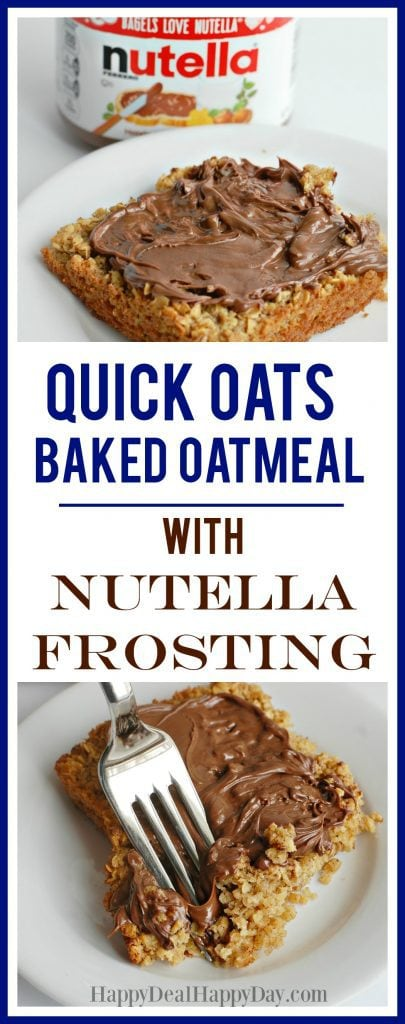 Quick Oats Baked Oatmeal
