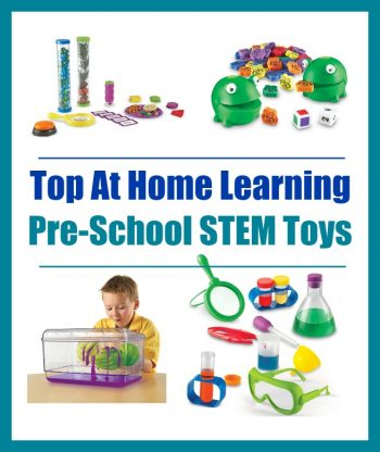 List of Top At Home Learning Pre-School STEM Toys + Froggy Feeding Fun ($25 Value) Giveaway – LAST DAY!!